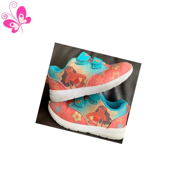 Disney Other - Moana Sneakers